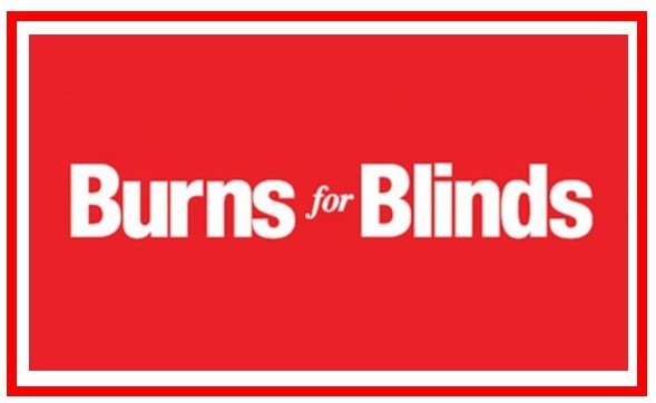 Burns for Blinds with border